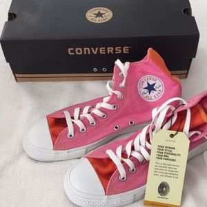 Converse All Star Chuck Taylor canvas high tops